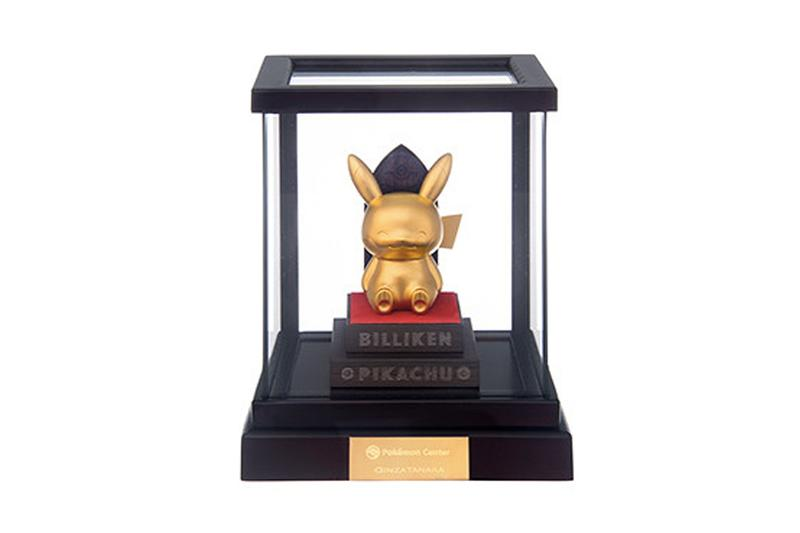 Pokémon 推出要價 ¥400,000 日圓 24K Pikachu 純金像