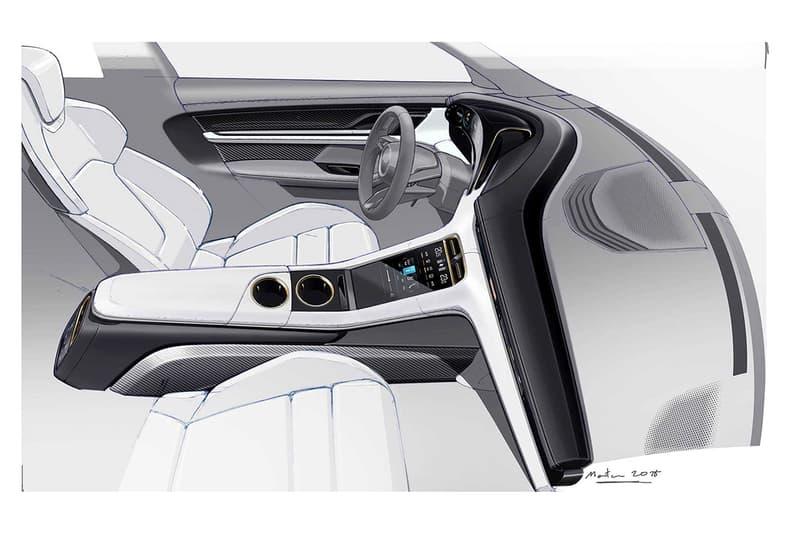 全屏幕座艙-Porsche 揭示全新純電跑車 Taycan 的內裝圖片