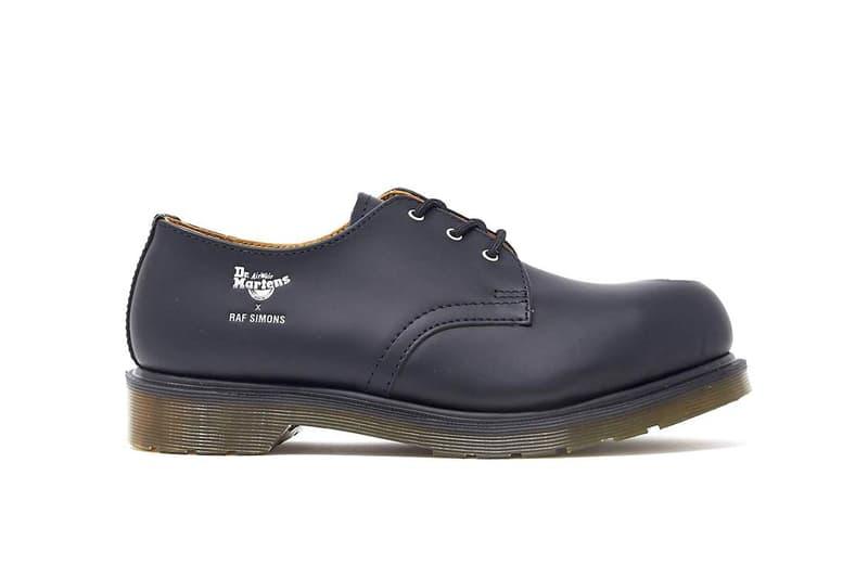 Raf Simons x Dr. Martens 1461 聯乘鞋款現正販售