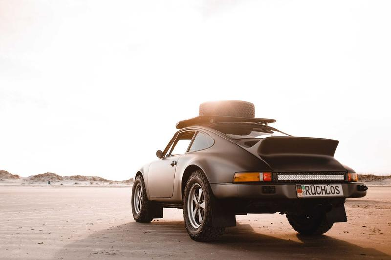 顛覆印象-1984 年 Porsche 911 Carrera 越野改裝版本即將拍賣
