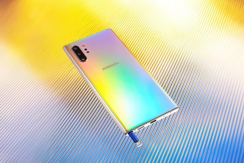 Samsung 全新 Galaxy Note 10 旗艦手機系列正式發佈