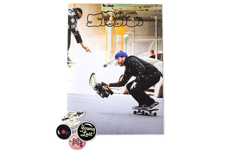 Supreme 御用攝影師 William Strobeck 登上《SNEEZE Magazine》第 40 期封面