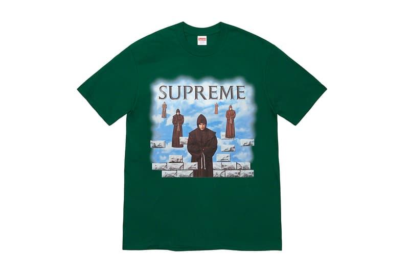 Supreme 正式發佈 2019 秋冬 T-Shirt 系列