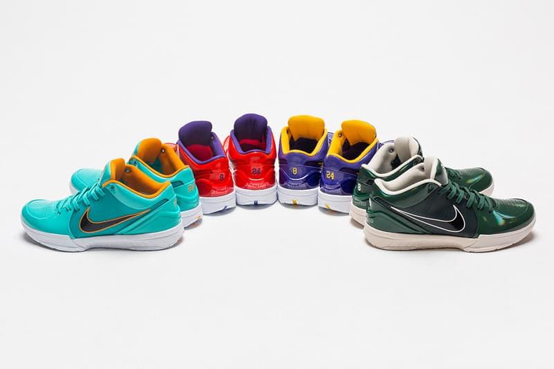 搶先預覽 UNDEFEATED x Nike Kobe 4 Protro 最新聯名系列