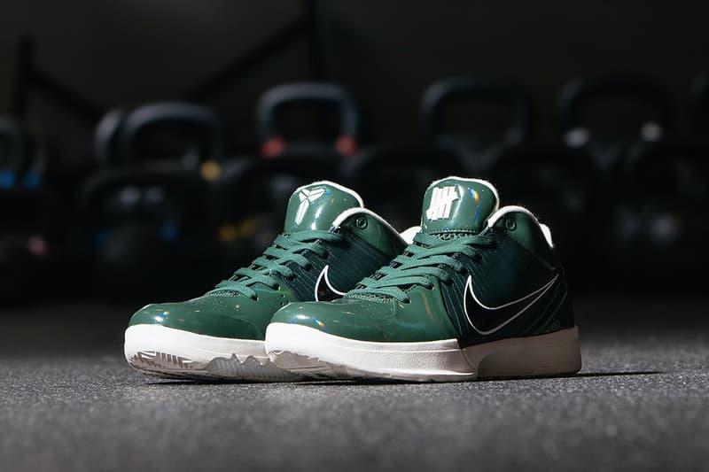 UNDEFEATED x Nike Kobe 4 Protro 最新聯乘系列官方圖輯公開