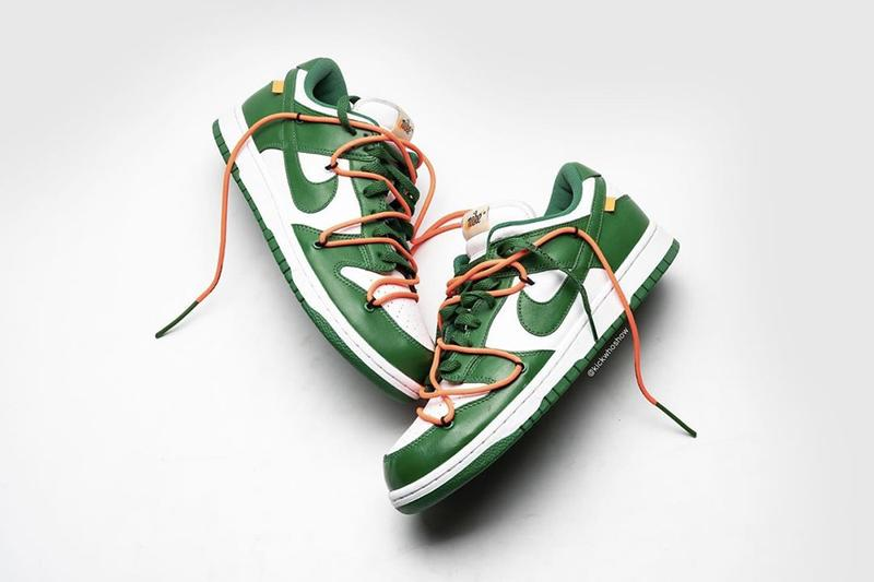 Virgil Abloh 正式曝光 Off-White™ x Nike Dunk Low 最新聯乘鞋款