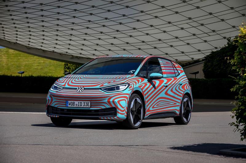 Volkswagen 發佈純電「ID」系列首款車型 ID.3