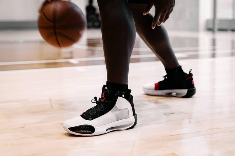怪物新人 Zion Williamson 親自展演 Air Jordan 34 的優越性能