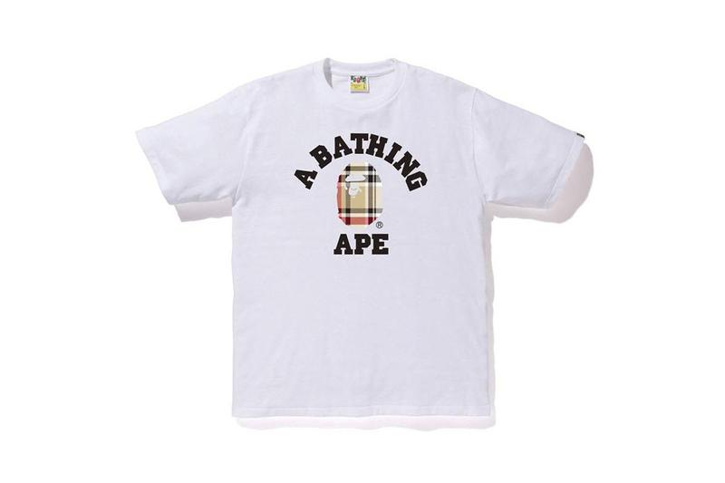 A BATHING APE® 推出全新格紋印花系列