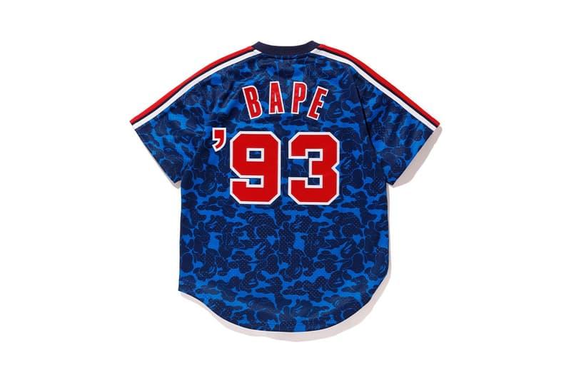 A BATHING APE® x Mitchell & Ness 全新聯乘 MLB 系列發佈