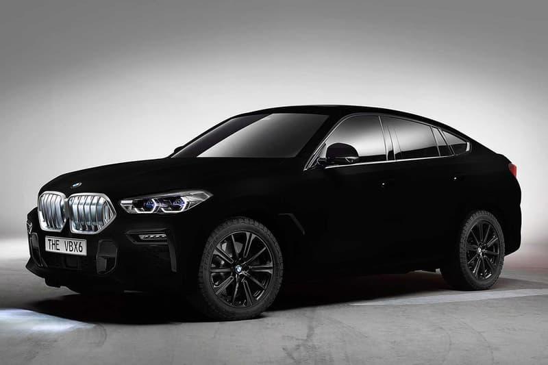 實車現身!搶先預覽 BMW 究極暗黑 X6「Vantablack」上路片段