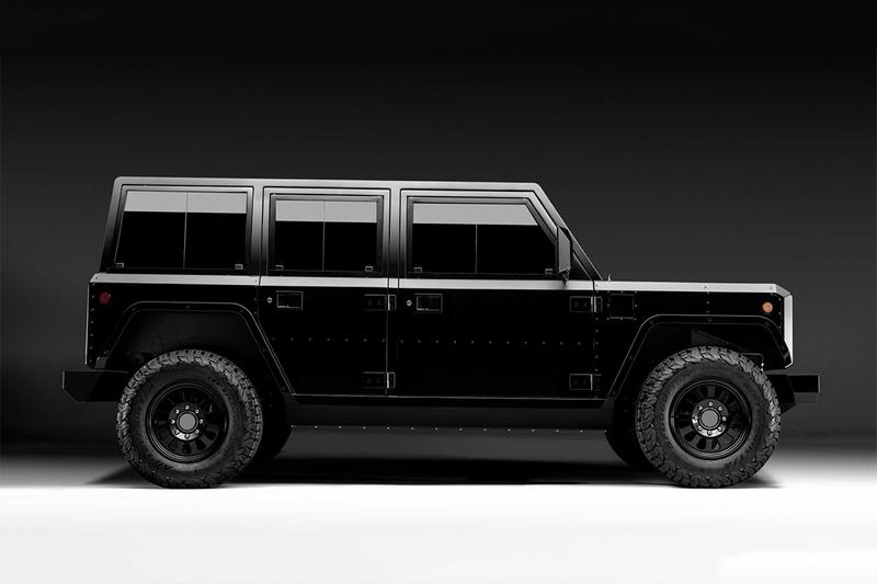 剛硬線條 − Bollinger 推出最新 B1 越野及 B2 Pickup 原型車