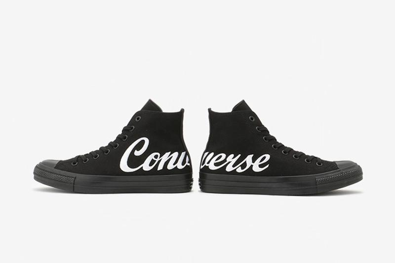 Converse Japan 推出巨型潦草字體 All Star 100 鞋款