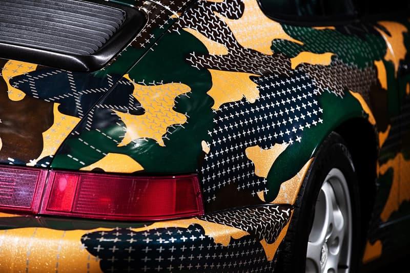 FDMTL 打造「Sashiko Camouflage」定製外裝 Porsche 911 Carrera