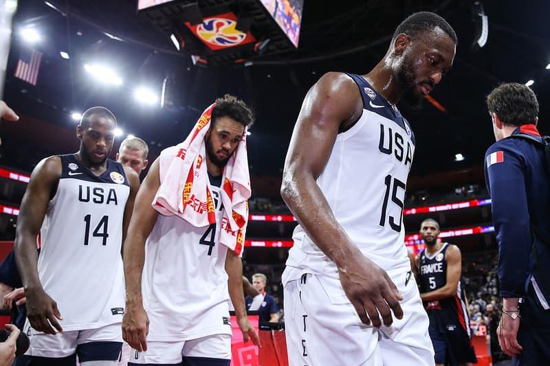 FIBA 2019 世界盃籃球賽 − 爆冷出局!美國夢幻隊不敵法國隊正式於八強遭淘汰