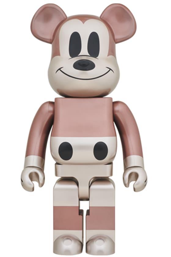 fragmentdesign、UNDEFEATED 推出 Mickey Mouse 九十周年別注 BE@RBRICK 玩偶