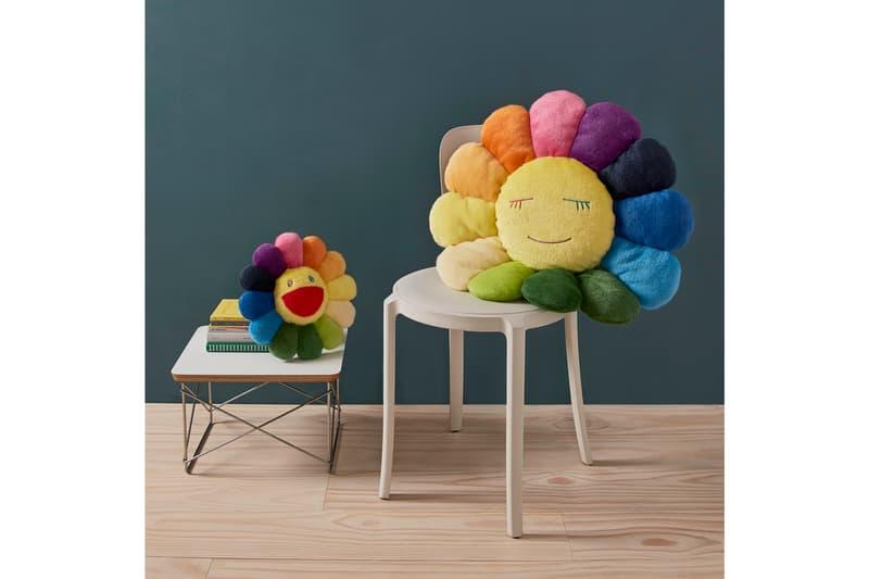 村上隆經典太陽花毛絨抱枕獨家登陸香港 MoMA Design Store
