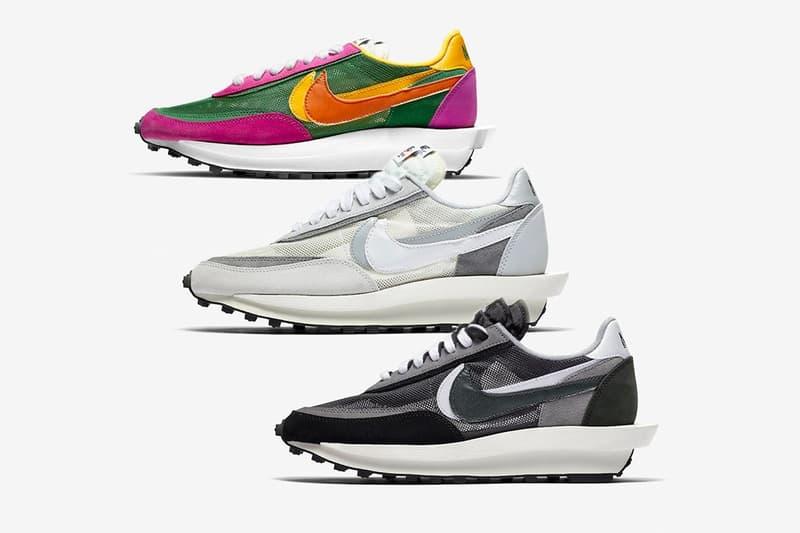 sacai x Nike LDWaffle 最新秋季聯乘香港區抽籤情報公開