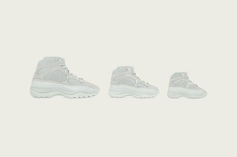 adidas 與 Kanye West 全新鞋款系列 YZY DSRT BT 香港發售情報公開