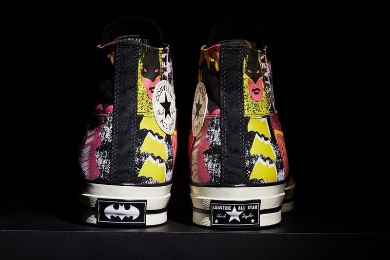 蝙蝠俠 80 週年-Converse 誌賀 Batman 推出聯乘鞋款系列