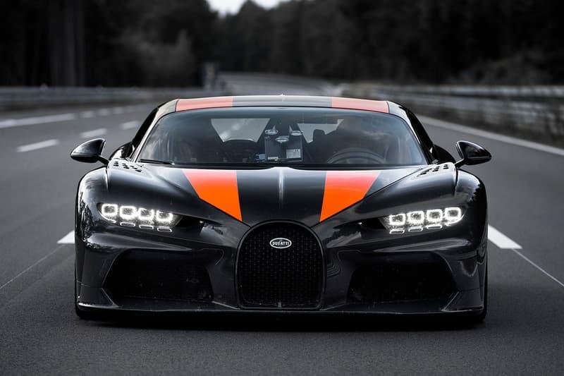 地上最快-Bugatti Chiron Sport 極速提升至 490 公里時速