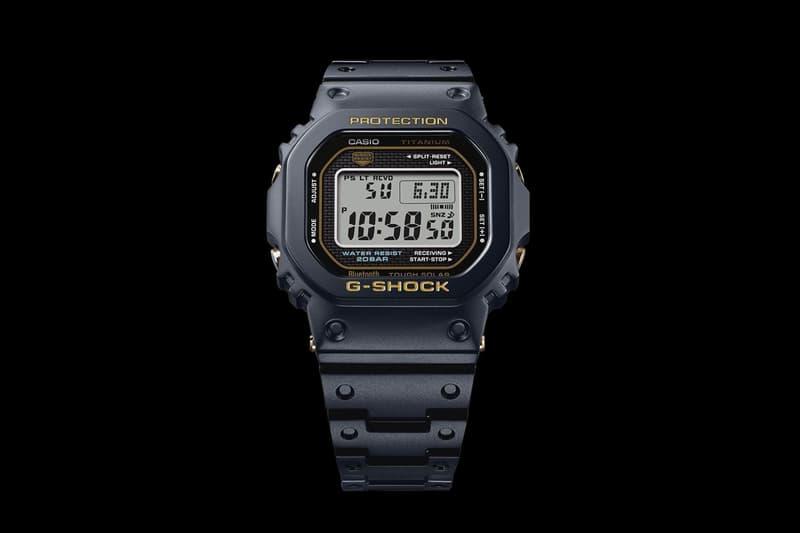 Casio G-Shock 5000 系列發表鈦合金升級版