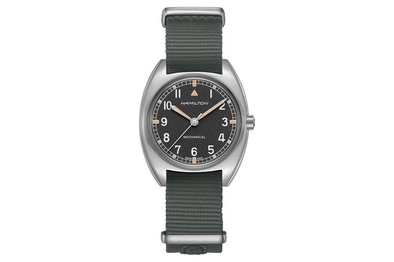 Hamilton 復刻 70 年代英軍 W10 手動上鏈手錶