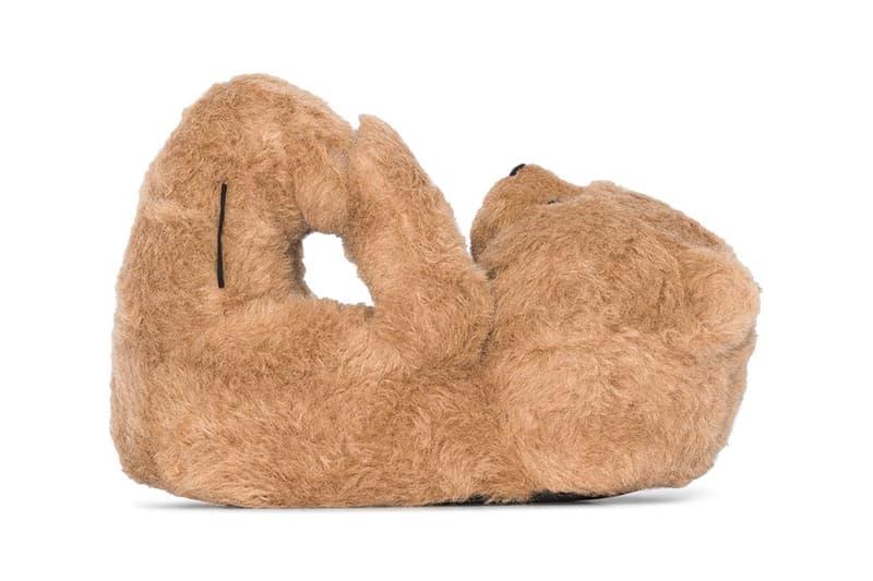 穿上熊-Vetements 推出 Teddy Bears 泰迪熊靈感拖鞋