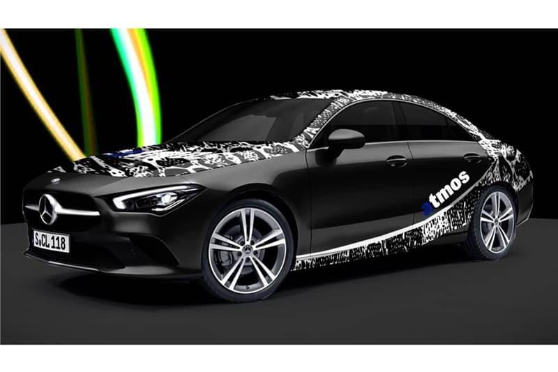 Mercedes-Benz x atmos 為全新 CLA250 打造別注拉花