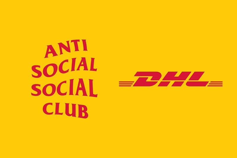 Anti Social Social Club 預告將與 DHL 推出別注聯名系列