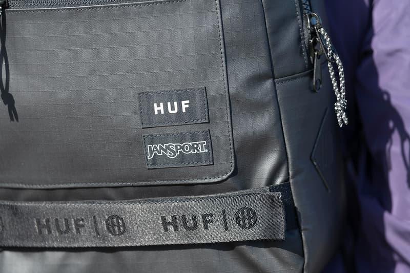 HUF x JanSport 全球限量聯名包款系列正式發佈