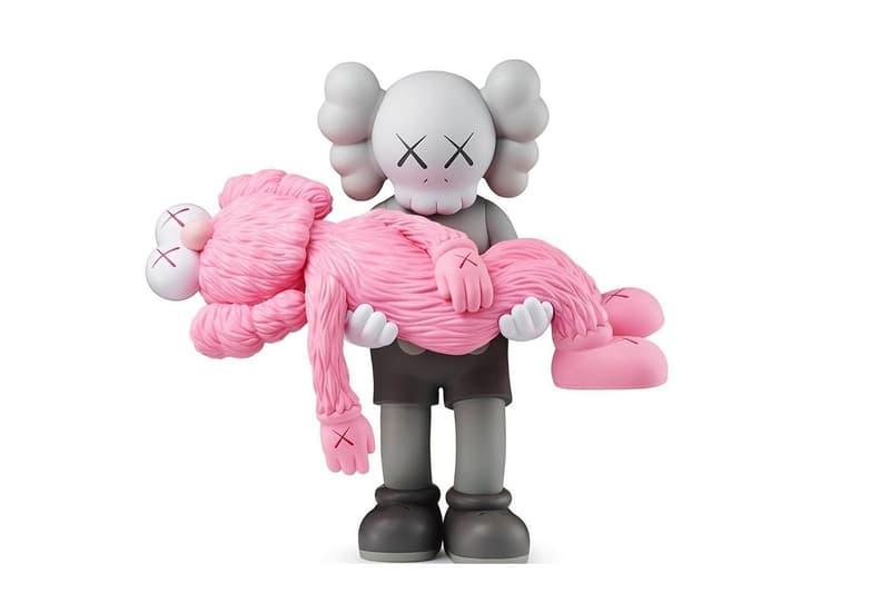 KAWS 揭露全新「GONE」Companion 粉色搪膠模型完整圖輯