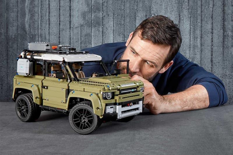 LEGO 推出 2020 年 Land Rover 全新世代 Defender 積木模型