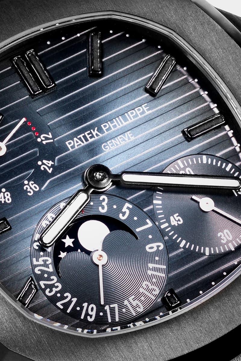 MAD Paris 打造黑魂 Patek Philippe Nautilus 5712 限量定製錶款
