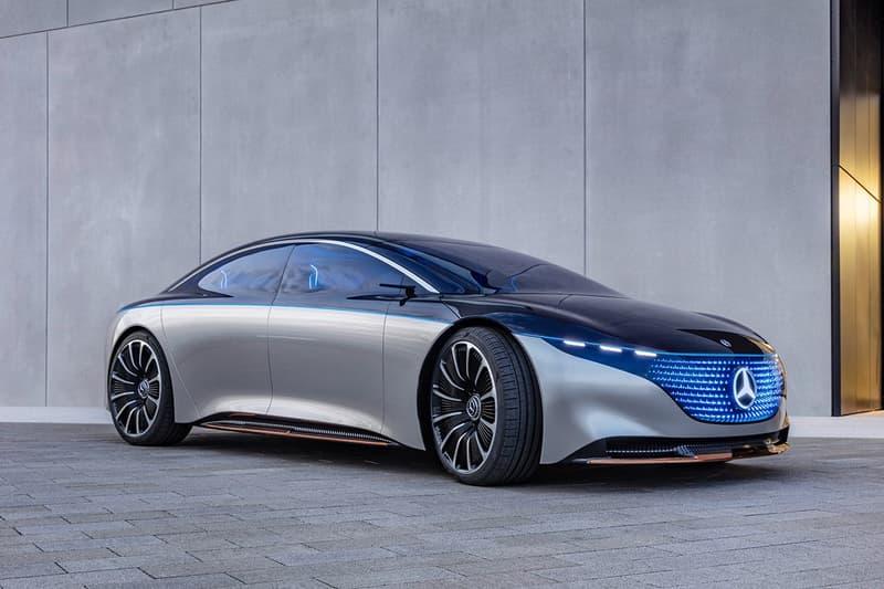 IAA 2019 − Mercedes-Benz 全新純電車型 EQS Concept 登場
