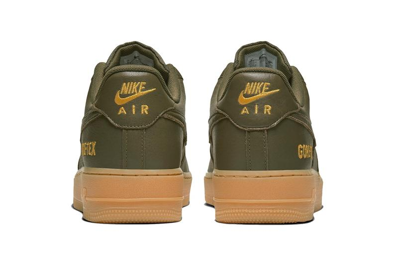 Nike 攜手 GORE-TEX 打造最新 Air Force 1 機能鞋款系列
