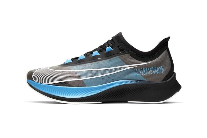 Nike Zoom Fly 3 全新「Chicago Marathon」別注設計發佈