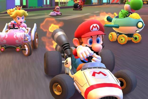 再起風雲-Nintendo《Mario Kart Tour》首日下載量超越《Pokémon GO》