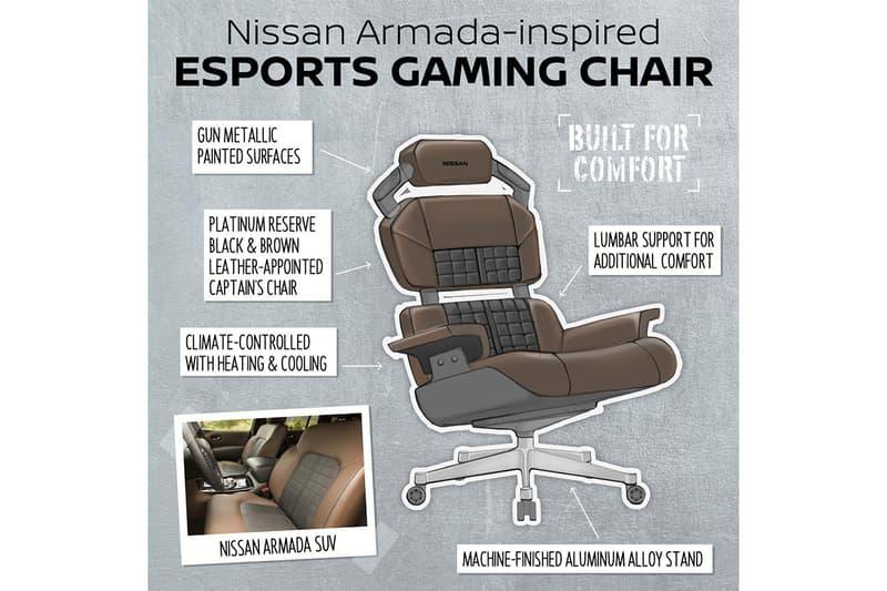 車迷終極家具-Nissan 發表 GT-R Nismo 概念電競椅