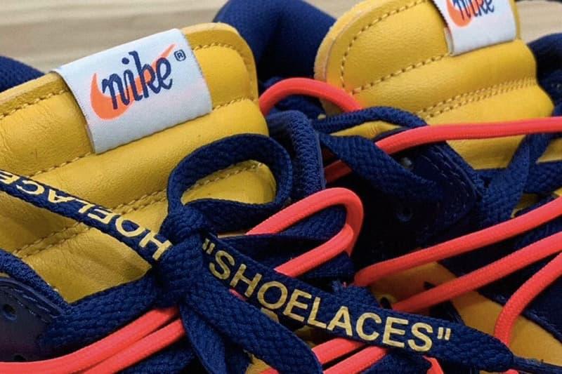 Off-White™ x Nike Dunk Low 全新「Michigan」配色曝光
