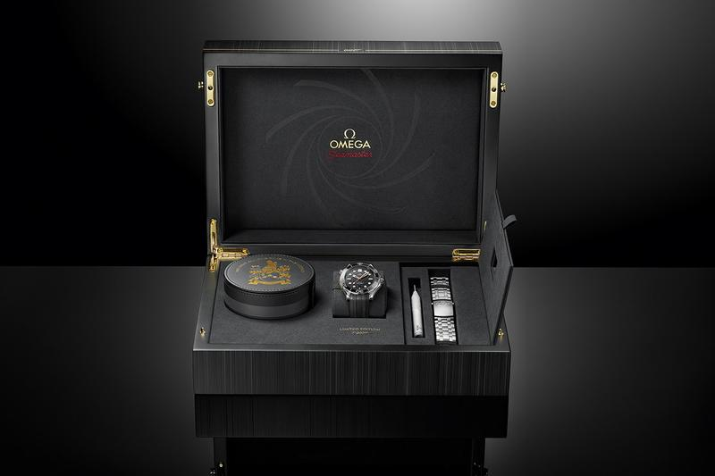 OMEGA 推出 James Bond 電影別注 Seamaster Diver 300 米系列不鏽鋼腕錶