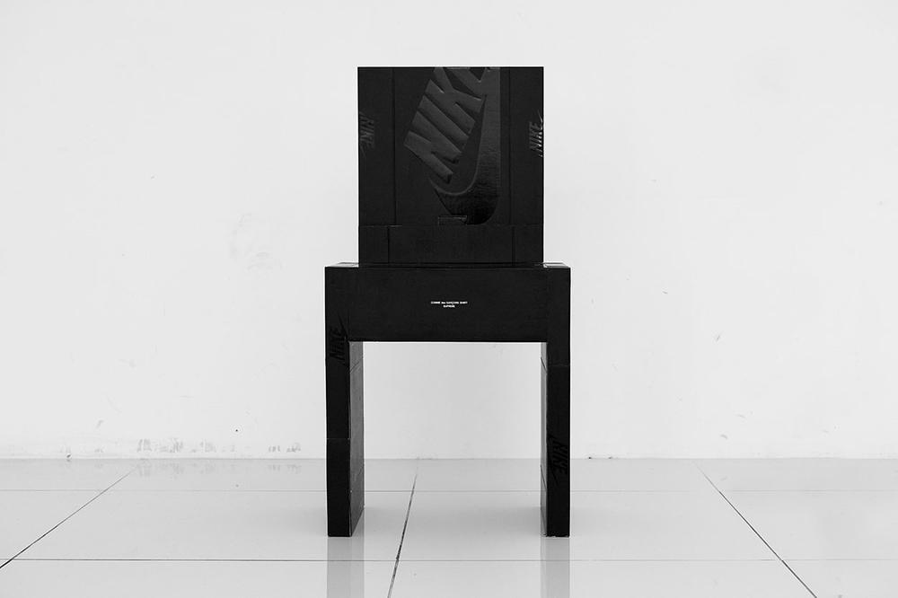 Nike 鞋盒化作傢俱!知名藝術家 Gyu Han Lee《ON MY SEAT》藝展現正開催