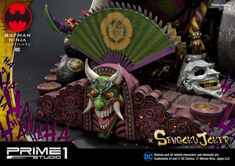美日混血 − Prime 1 Studio 推出「戰國小丑」1:4 比例珍藏人偶