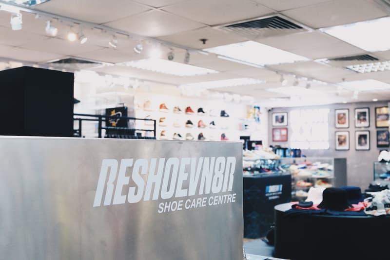 Reshoevn8r 聯結 Flight 23 開設全新一站式球鞋護理中心