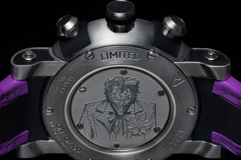 瑞士錶廠 RJ  攜手 Warner Bros. 推出 Batman 80 週年紀念腕錶