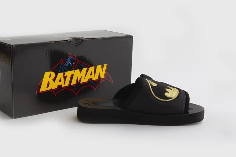 蝙蝠俠 80 週年-SUICOKE x Batman 推出聯乘別注鞋履