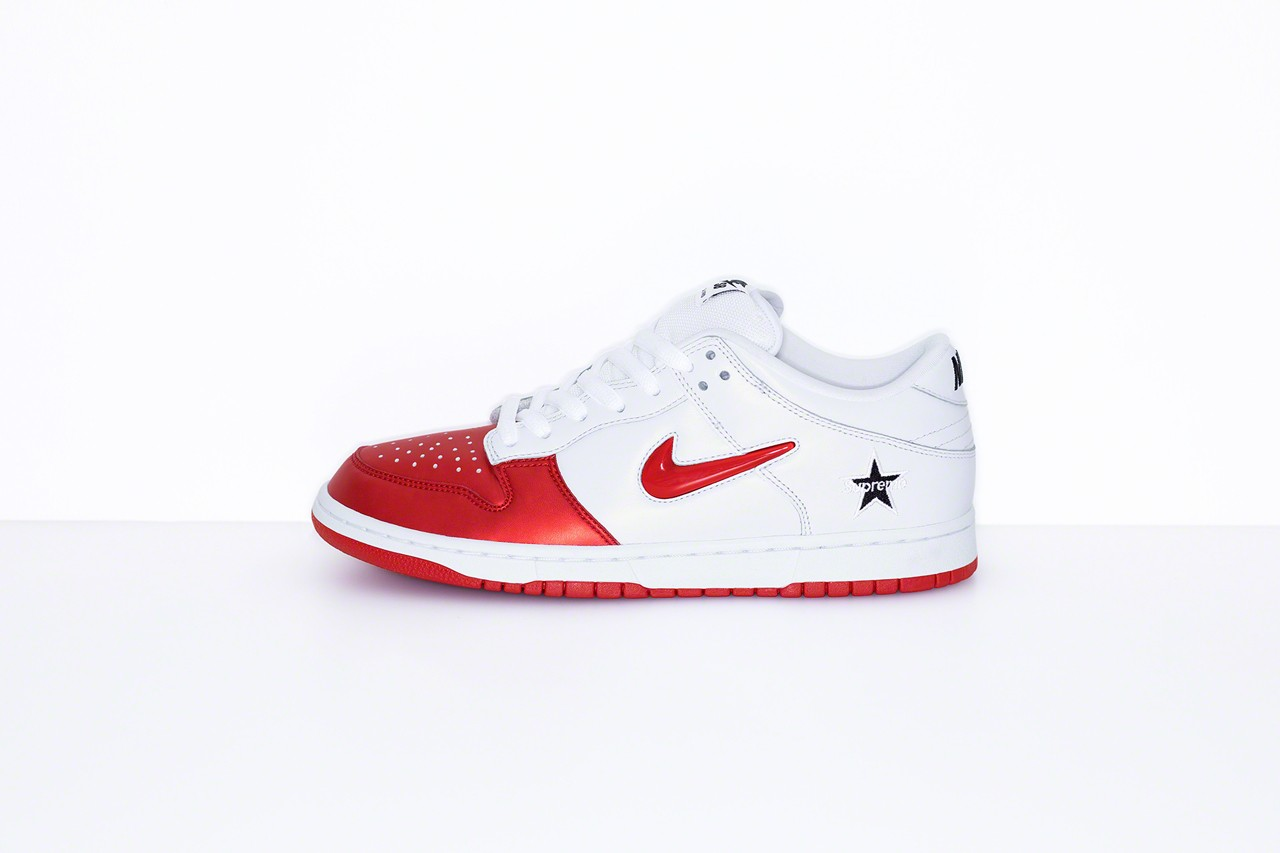 Supreme x Nike SB Dunk Low 全新
