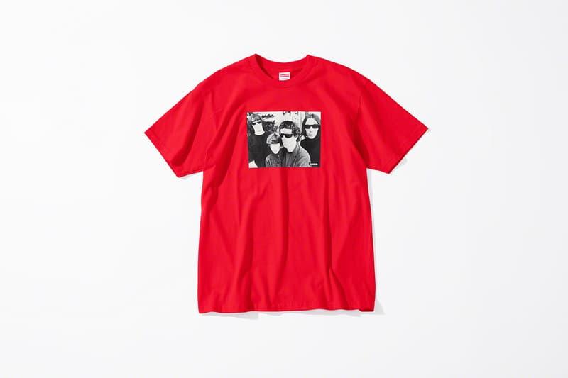 Supreme 正式發佈紐約搖滾樂隊 The Velvet Underground 聯乘系列