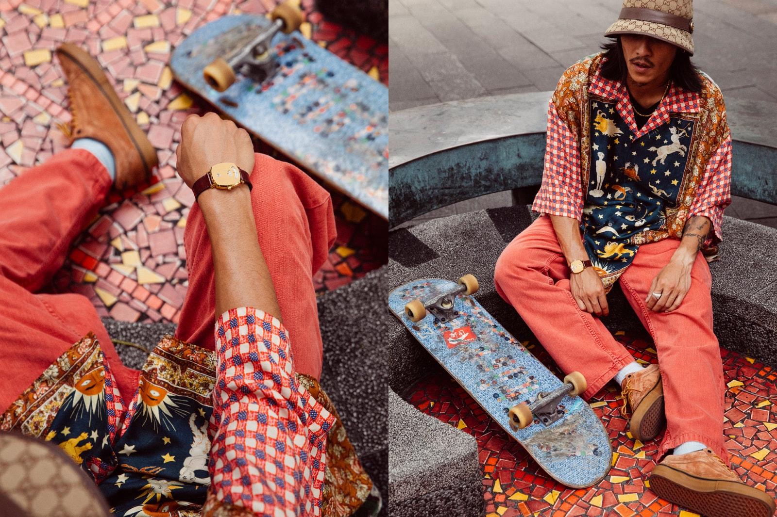 從街頭滑板人的獨特視角帶你認識 Gucci GRIP 腕錶