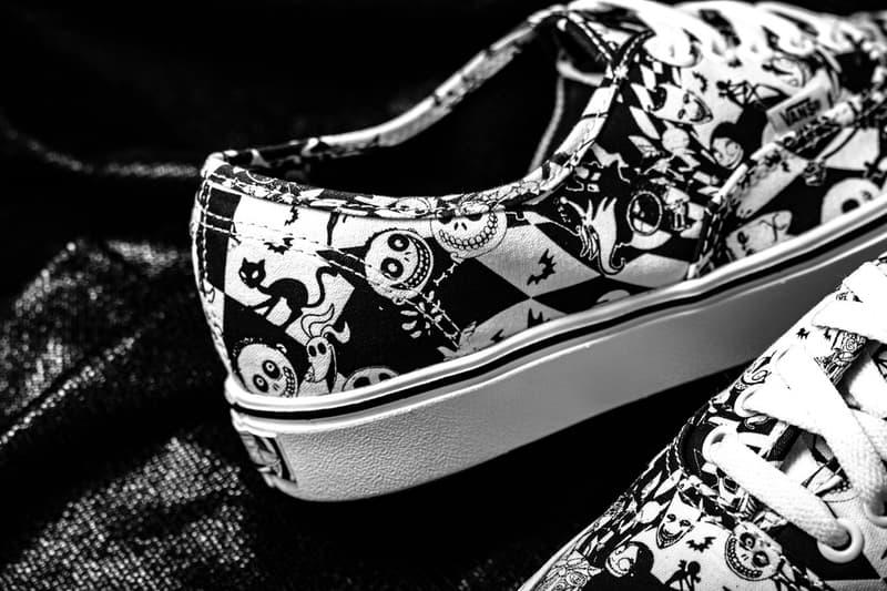 搶先近賞全新 Vans x《怪誕城之夜》聯乘系列鞋款